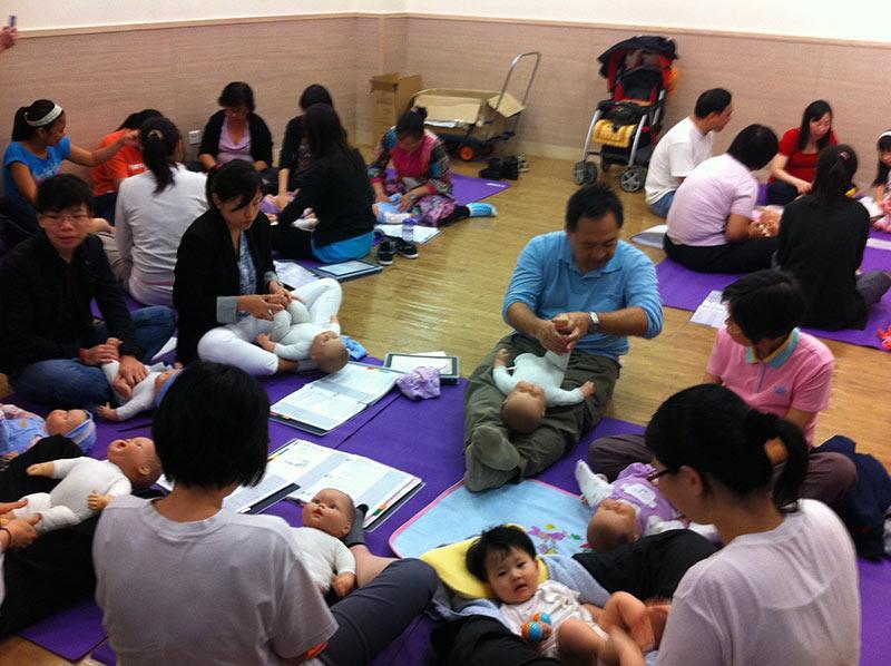 國際認可CIMI 嬰兒按摩導師證書課程