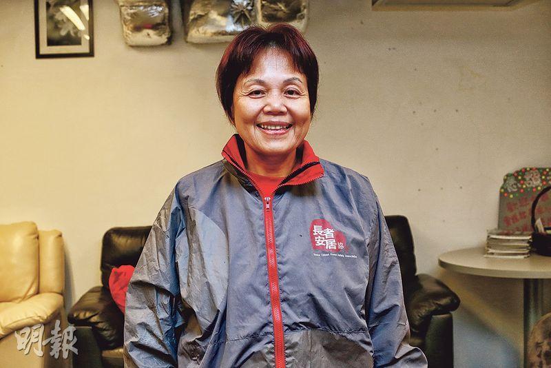 家務達人——呂慧然:長者安居協會管家易星級家務助理,有15年家務助理經驗。(呂瑋宗攝)