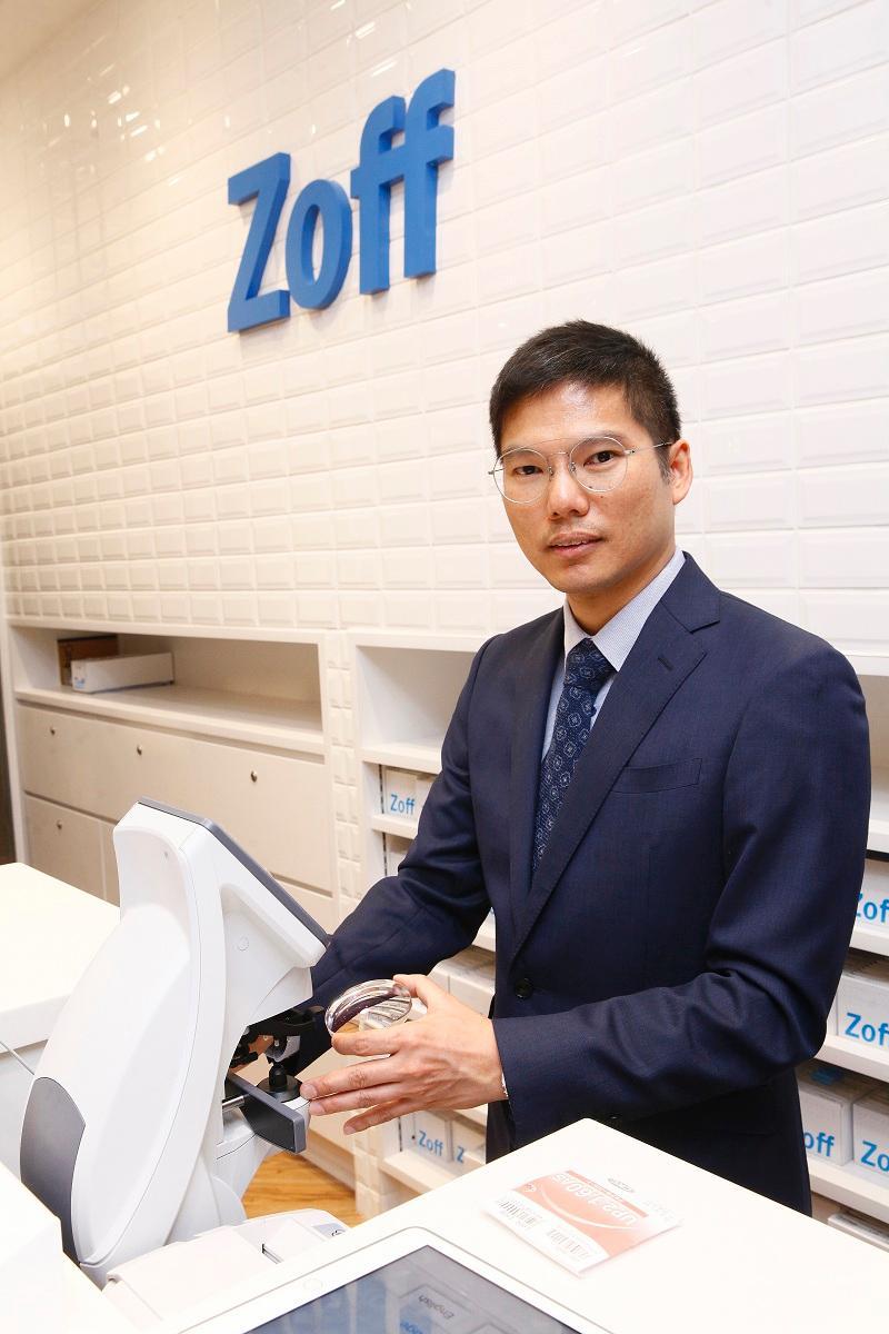 Zoff營運經理巫志龍(Edwin)