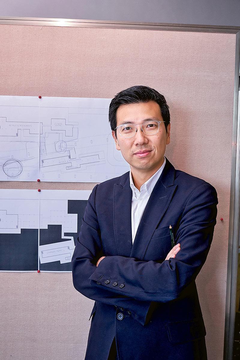 珠海學院建築學系系主任朱海山副教授