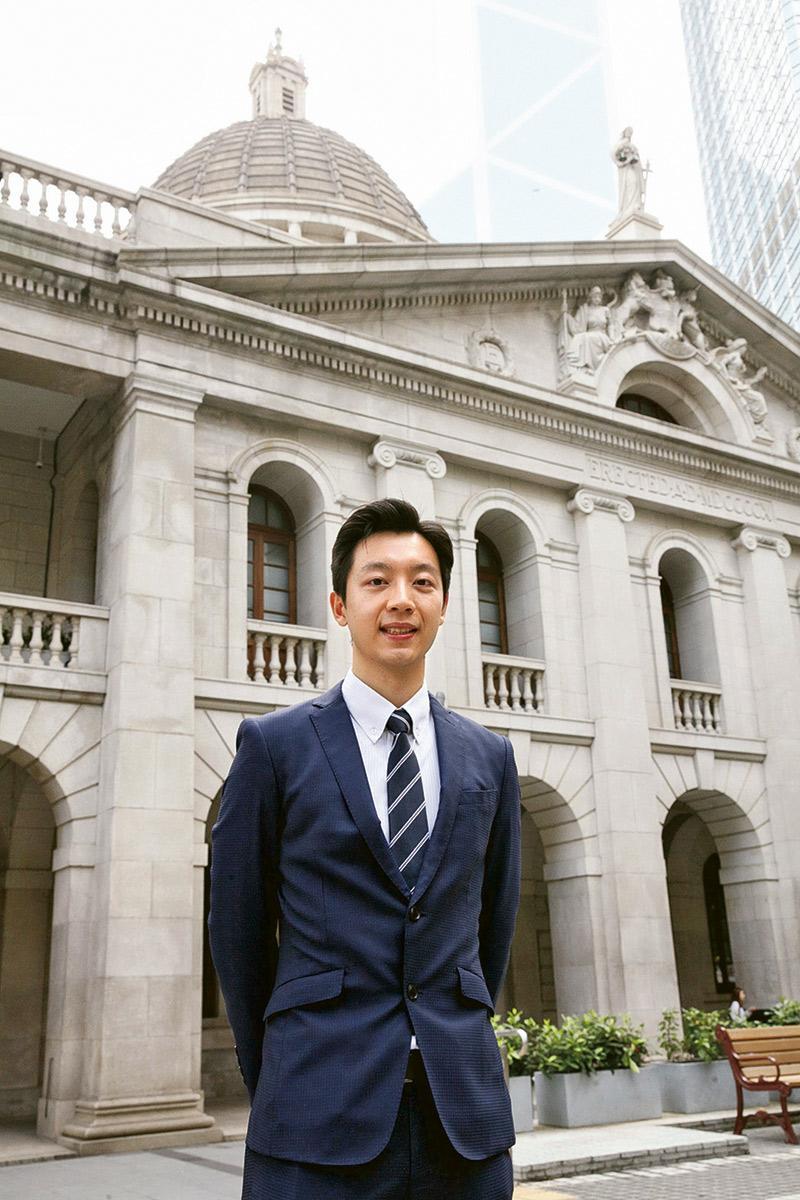 城大法律學學士課程 (LLB) 及法學專業證書課程 (PCLL)畢業生翁朗 (Ron)