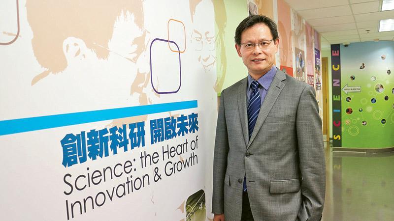 浸大協理副校長(研究)及計算機科學系講座教授 劉際明教授