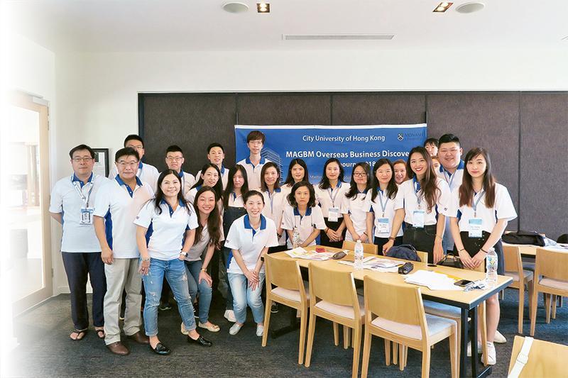 師生們訪問澳洲墨爾本蒙納士大學。