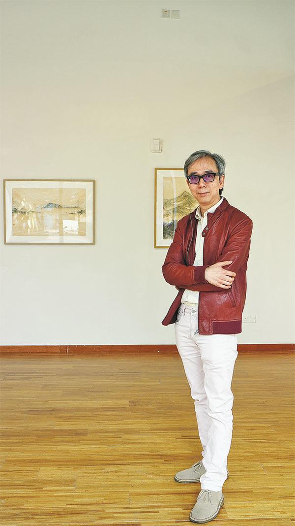 浸大視覺藝術院碩士課程總監鍾緯正博士