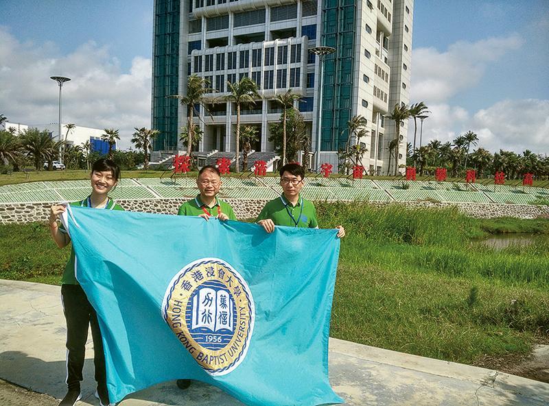 學院參與中國首艘貨運飛船「天舟一號」太空生命科學研究,是唯一參與在貨運飛船上進行的科學實驗的大陸境外院校。