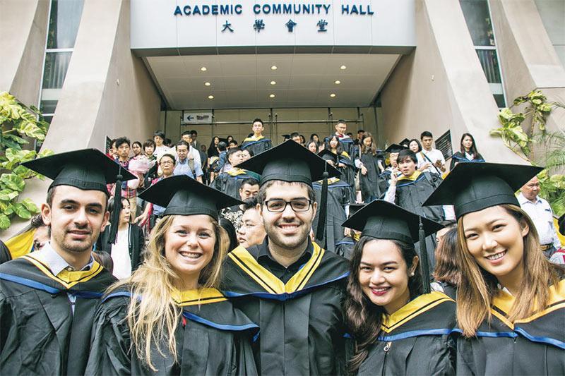 浸大商學院是全港唯一獲三重國際認證的院校,吸引不少有意在亞洲發展的海外生報讀。