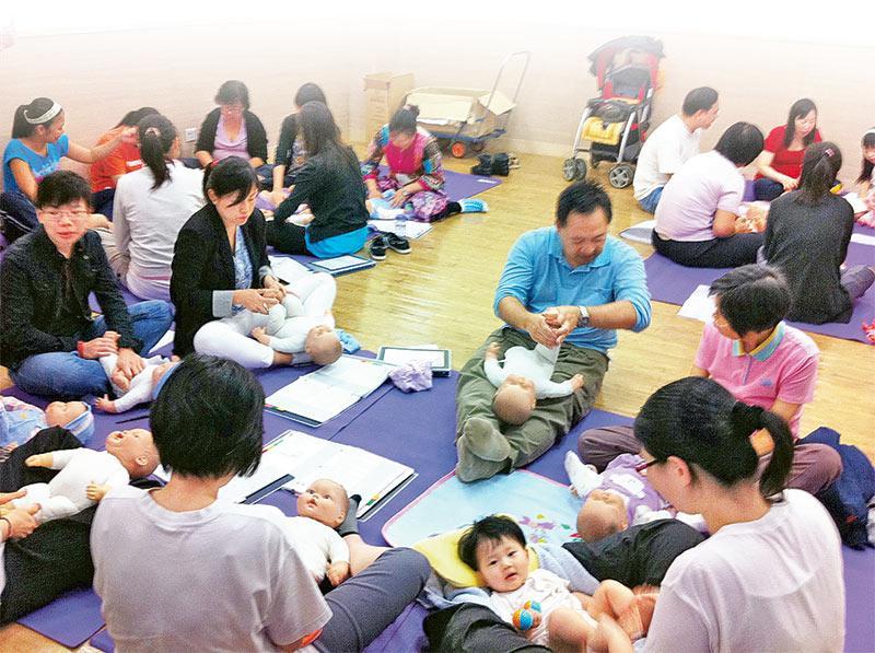 考取國際認可嬰兒按摩導師資格