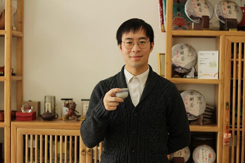 國家高級評茶師阿謙
