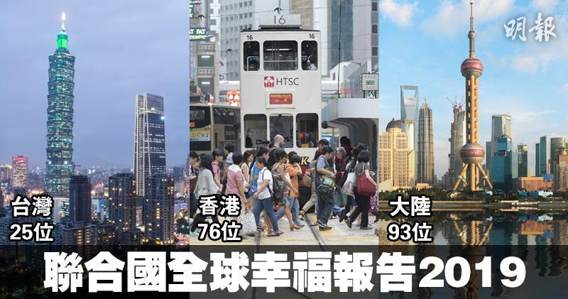 芬蘭蟬聯最幸福地區 香港排76