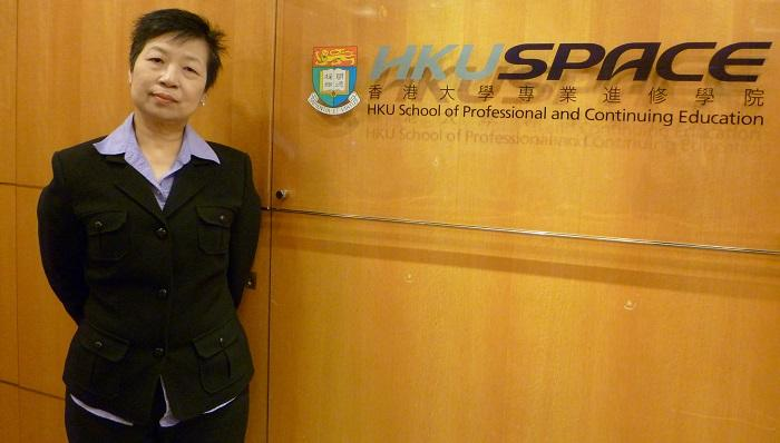 香港大學專業進修學院語言中心副主任葛瑞娣