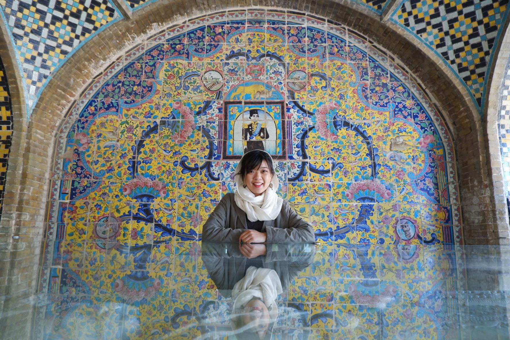 伊朗的美輪美奐建築,令 Priscilla 十分難忘。(受訪者提供)