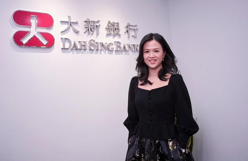 大新銀行總經理及集團人力資源處主管陳詩靜 (Amy)