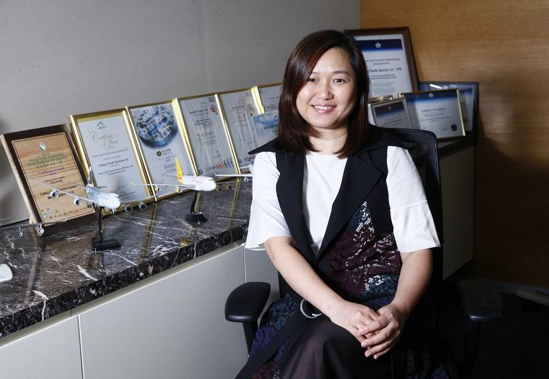 國泰航空服務有限公司 (CPSL) 人事主管朱穎潔 (Carol)