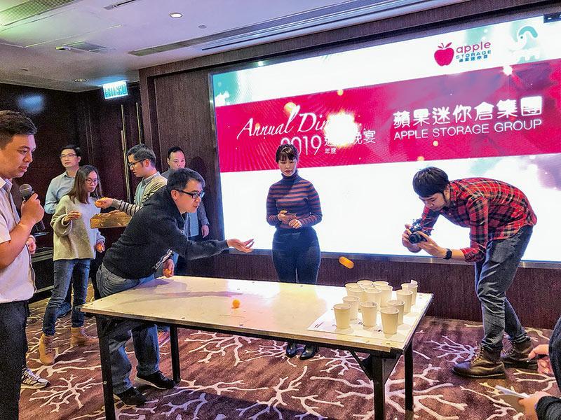 公司舉行不同的活動供員工參與。