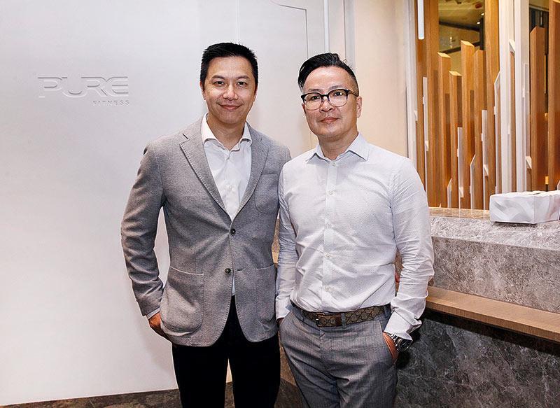 Pure首席人力資源總監林炬賢(左)及高級人事部經理梁云崎(右)