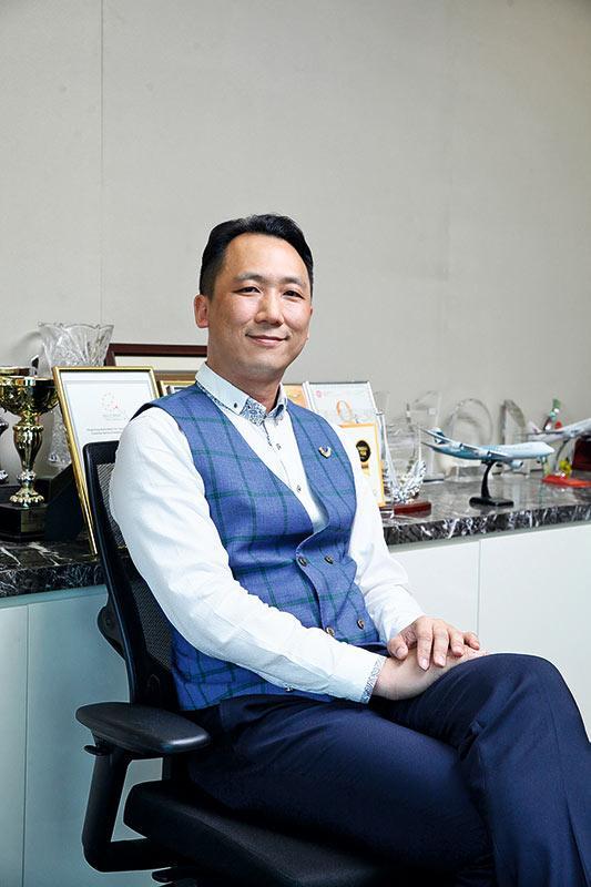 CPSL貨站服務經理林昭宏(Bacchus)