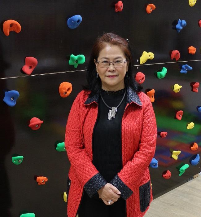 明愛專上學院幼兒教育課程主任藍美容教授