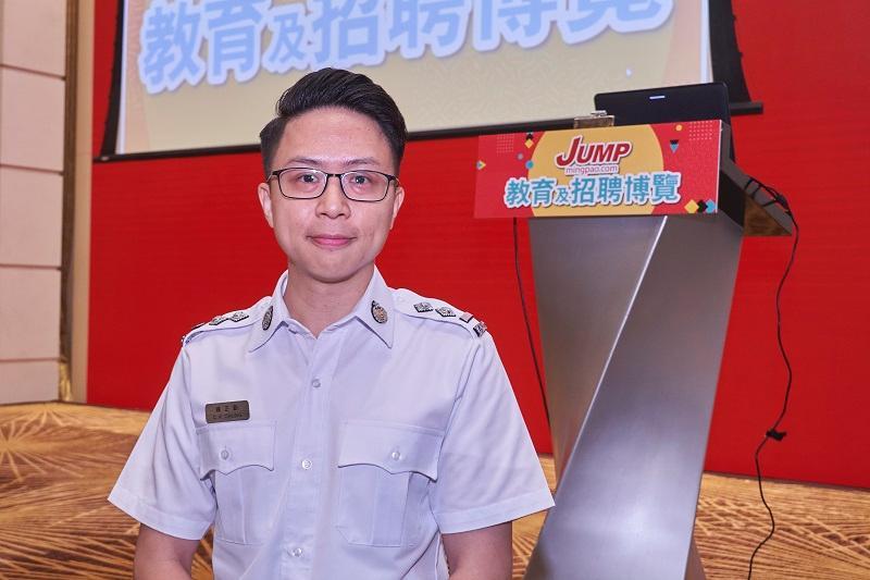 入境事務處招聘及訓練研究組署理高級入境事務主任鍾正勤 (鍾 Sir)