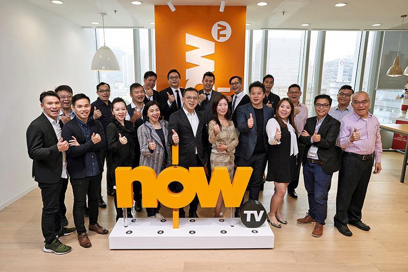 多媒體產品組合變化多端 Now TV營銷團隊