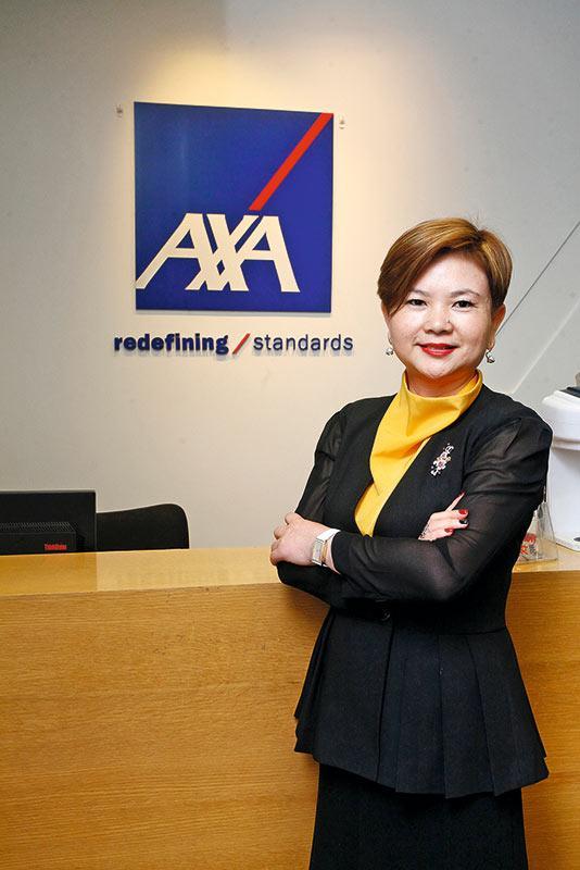 AXA安盛區域總監賀清(Judy)