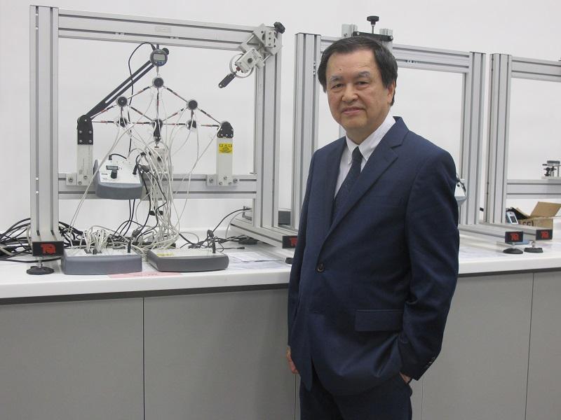 珠海學院土木工程學系系主任麥耀榮教授(JUMP圖片)