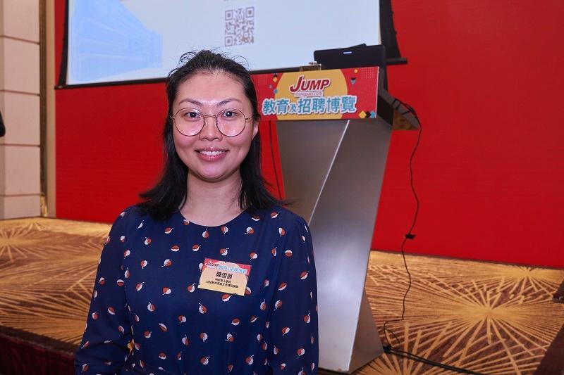 明愛專上學院 (CIHE) 幼兒教育高級文憑課程講師陸雪茵