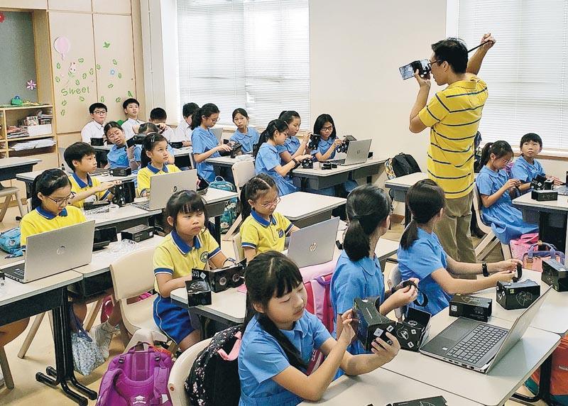 教師可將 STEM 融入常規課程,增加學生上課樂趣。(圖:受訪者提供)