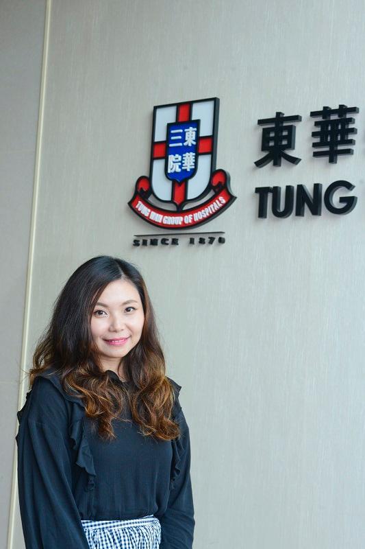 東華三院「青年護理服務啟航計劃」計劃主任陳巧誼