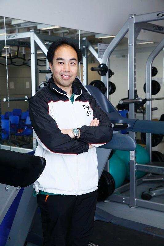 香港高等教育科技學院 (THEi)運動及康樂學系助理教授兼課程主任陸子聰博士
