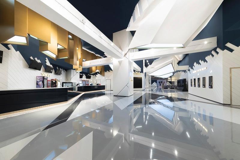 室內設計師在設計戲院項目時,工作包括考慮如何運用公共空間。(圖由Oft Interiors提供)