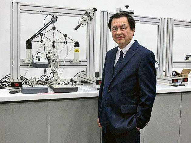 珠海學院土木工程學系系主任麥耀榮教授