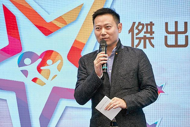 主禮嘉賓勞工及福利局副局長徐英偉