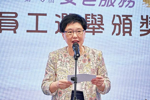 香港職業發展服務處主席羅君美