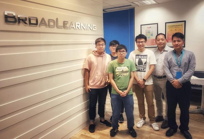 課程學員有機會到IT行業機構進行暑期實習,以學以致用,為將來投身業界做好準備。(相片由香港恒生大學提供)