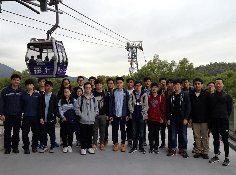 同學到昂平 360 參觀,豐富學習體驗。