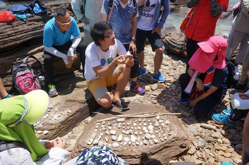 課程設有戶外考察,有助加強學員對岸邊生態的認識。