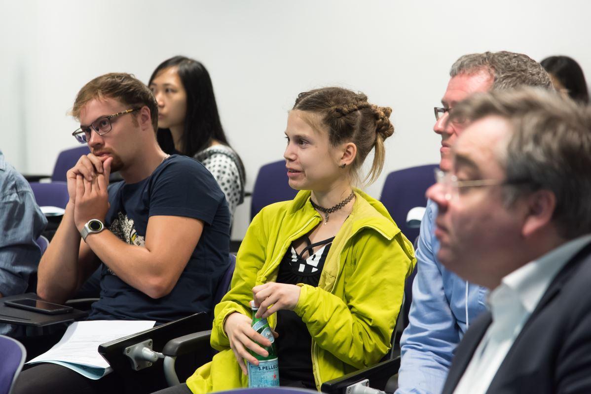 科大透過舉辦不同的活動,讓同學有機會與來自不同國家的專家和學生互相交流。圖為與丹麥Aarhus University合辦工作坊。(圖由受訪者提供)