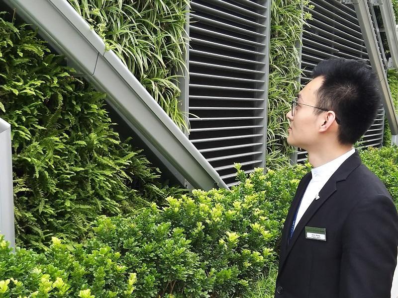 物業主任 Alvin Wong