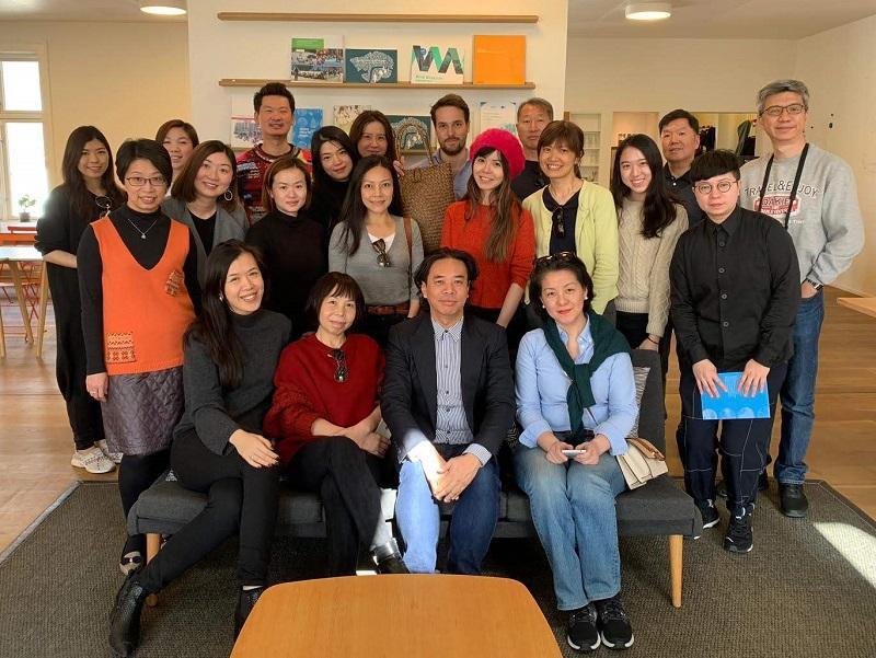 學員藉着參加考察團,汲取外國經驗,反思香港創意產業的發展。