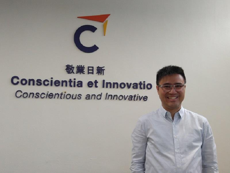 香港專業進修學校「社會工作高級文憑課程」署理課程主任黃德康 (圖由受訪者提供)