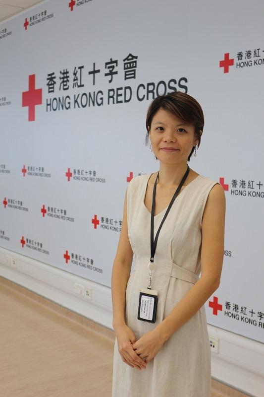 香港紅十字會臨牀心理學家林莉蓉
