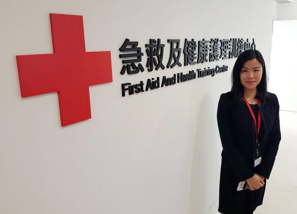 香港紅十字會醫護服務部急救訓練經理戴穎嫻