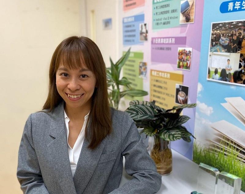仁愛堂YES培訓學院高級主任黃愛稀 (Kelly)