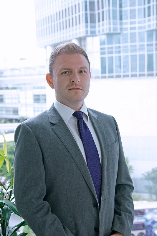 任仕達香港區銷售與市場營銷總監Benjamin Elms