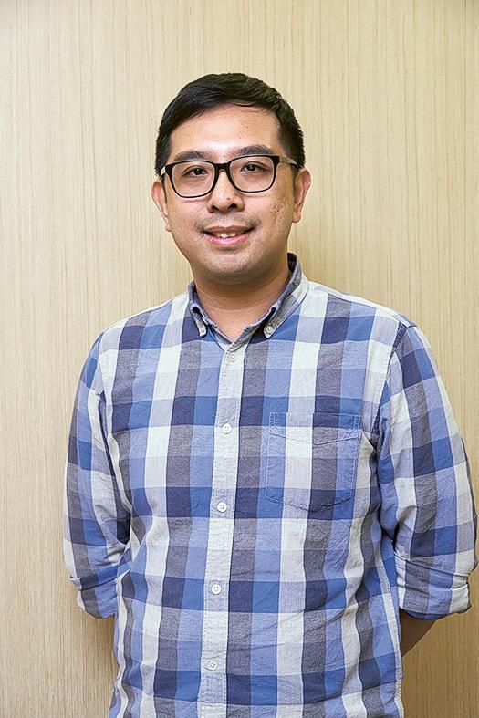 理大應用社會科學系活齡學院副項目員陳子安