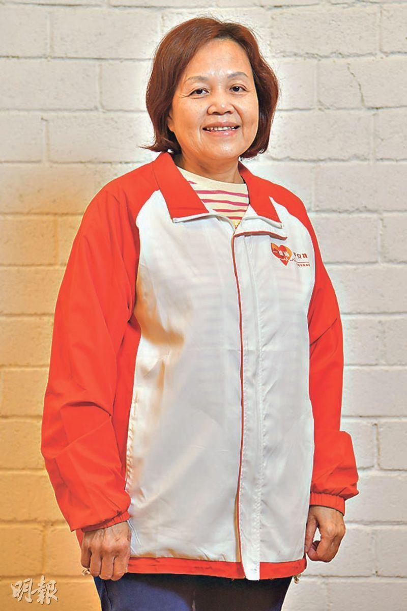 家務達人——呂慧然:長者安居協會管家易星級家務助理,有16年家務助理經驗。(黃志東攝)