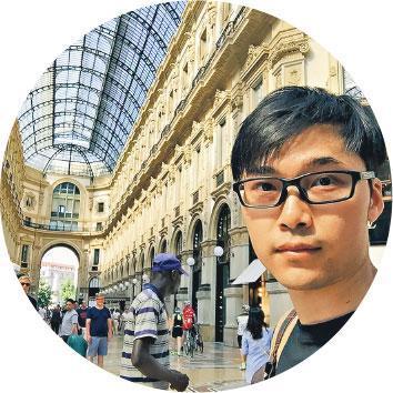 錄音師遊世界——不做變臉時,他是一名錄音師,喜歡隨項目及電影工作遊世界。(受訪者提供)