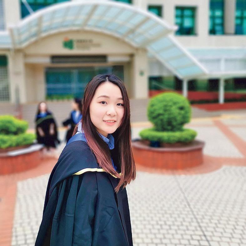 ▲MACSLE課程畢業生張瑜琳(Jelene),現職小學教師