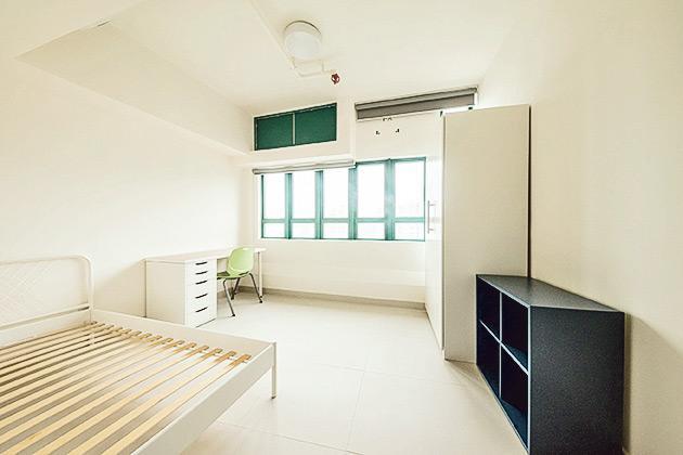 ▲仁大全日制研究生可申請入住研究生宿舍。