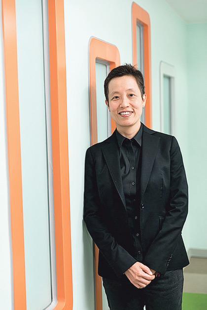 ▲香港樹仁大學協理學術副校長( 教學發展)、英國語言及文化系副教授陳潔詩博士